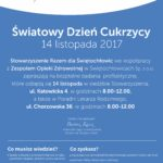 Plakat Światowy Dzień Cukrzycy